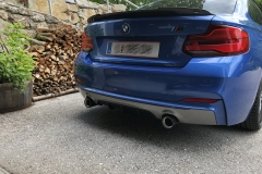 BMW M Performance Endrohrblende Carbon