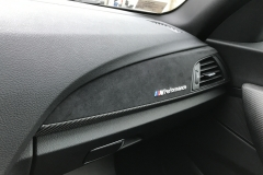 BMW M Performance Interieurleisten Carbon mit Alcantara