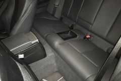 BMW M Performance Fußmatten Carbon/Alcantara Armauflage